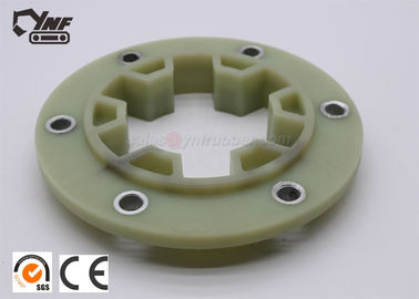 Durable Excavator Coupling For Green / Black Color 195*6 Flange CE Certification