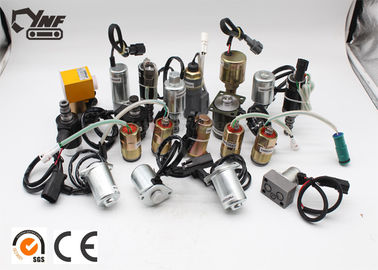 Solenoid Series Steel Excavator Electric Parts 6 Months Warranty