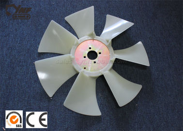 Excavator Repair Parts JCB60 Rubber Cooling Fan With Efficient Cooling
